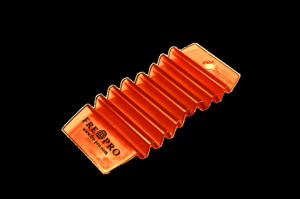 FrePro - HangTag universal Lufterfrischer Mango (orange), Inhalt: 1 Stück