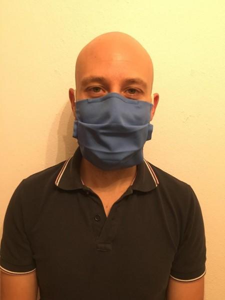 I.Q.- Stoffmaske blau-Copy